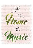 Musical Home Fine Art Print