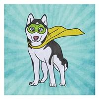Husky Power Fine Art Print