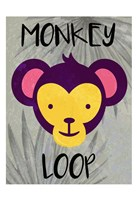 Monkey Loop Fine Art Print