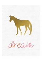 Unicorn Dreaming 1 Fine Art Print