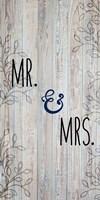 Mr and Mrs Fine Art Print