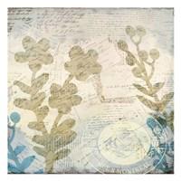 Botanical Postale 2 Fine Art Print