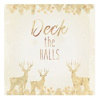 Deck The Halls Fine Art Print