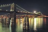 Moon Over Brooklyn Fine Art Print