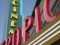 Tropic Cinema Fine Art Print