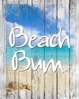 Beach Bum Fine Art Print