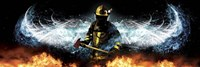 Fireman 11 Fine Art Print