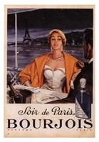 Soir de Paris Bourjois Fine Art Print