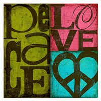 Peace & Love Fine Art Print