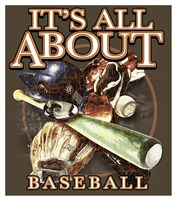 All About Baseball Fine Art Print