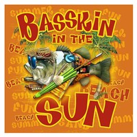 Bassin' in the Sun Fine Art Print