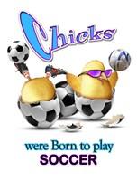 Born Soccer Fine Art Print