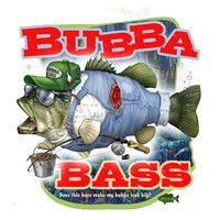 Bubba Bass Fine Art Print