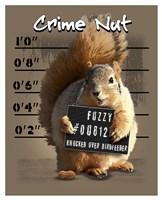 Crime Nut Fine Art Print