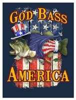 God Bass America Fine Art Print