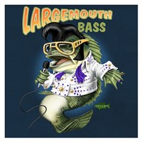 Largemouth Bass Fine Art Print