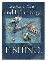 Plan to Fish Fine Art Print