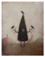Friend of the Crow Fine Art Print