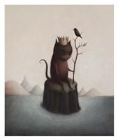 King of the Black Isle Fine Art Print