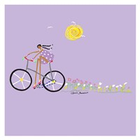 Tour de Girls 2 Fine Art Print