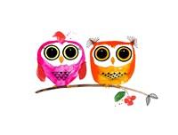 Owl Love Fine Art Print