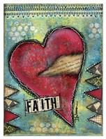Faith Heart Fine Art Print