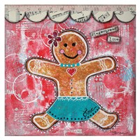 Gingerbread Love Fine Art Print
