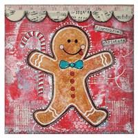 Gingerbread Xmas Fine Art Print