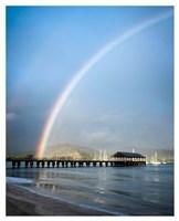 Rainbows at Hanalei II Fine Art Print