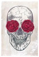 Skull & Roses Fine Art Print