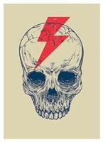 Skull Bolt Fine Art Print