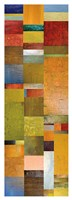 Color Panels with Blue Sky Fine Art Print