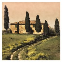 Tuscan Farmhouse Fine Art Print