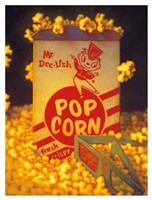 3D Popcorn Fine Art Print