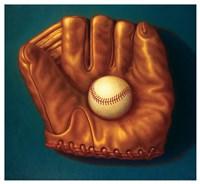 Baseball Mitt I Fine Art Print