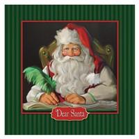 Dear Santa Fine Art Print