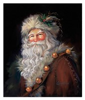 Father Christmas Fine Art Print
