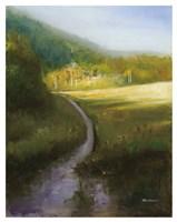 Purple Path Fine Art Print