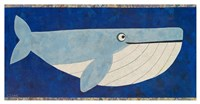 Wendell the Whale Fine Art Print
