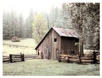 Barn near Sonora Fine Art Print