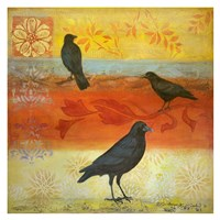 Crow Crossroads Fine Art Print