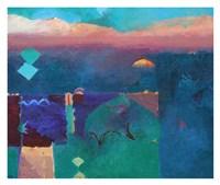 Meknes Green Fine Art Print