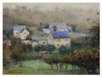 Countryside Hamlet Fine Art Print