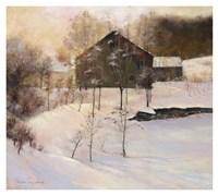 Winter Peace Fine Art Print