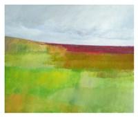 Dorset Green and Red Fine Art Print