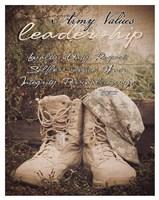 Army Values Fine Art Print