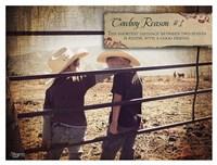 Cowboy Reason I Fine Art Print