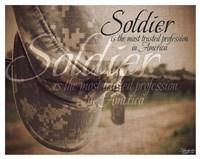 Soldier Fine Art Print