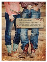 Two Hearts Fine Art Print