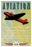 Aviation Recipe Fine Art Print